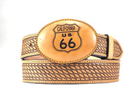 California US 66 Leather Buckle