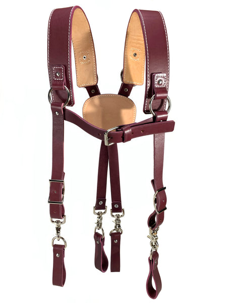 Jalzachih Leather Bros 9050 Leather Suspenders.