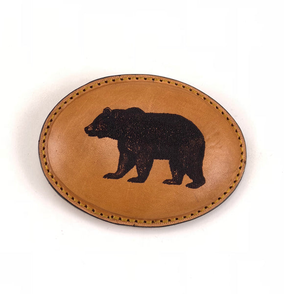 Bear Leather Buckle