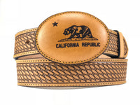 California Republic Leather Buckle