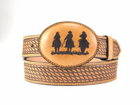 Three Riders Leather Buckle