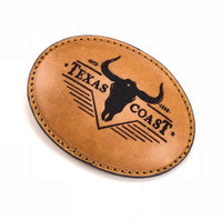 Texas Coast Leather Buckle