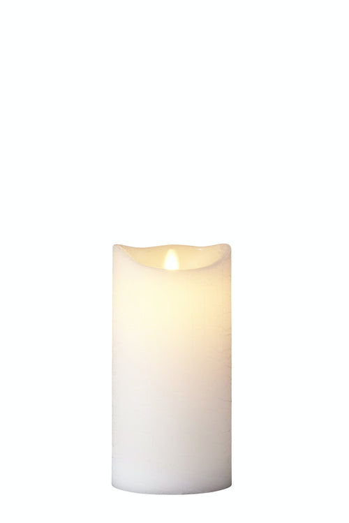 SIRIUS - Sara Excl H20cm White Led Wax Candles