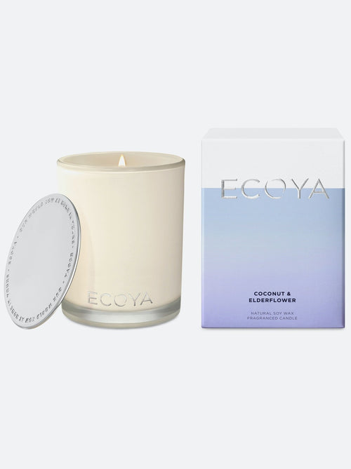 ECOYA - Mini Madison Jar Coconut & Elderflower