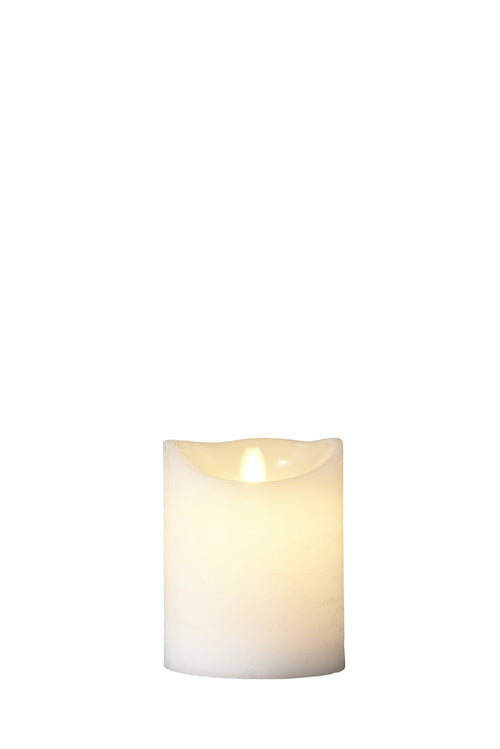 SIRIUS - Sara Excl H125 White Led Wax Candles