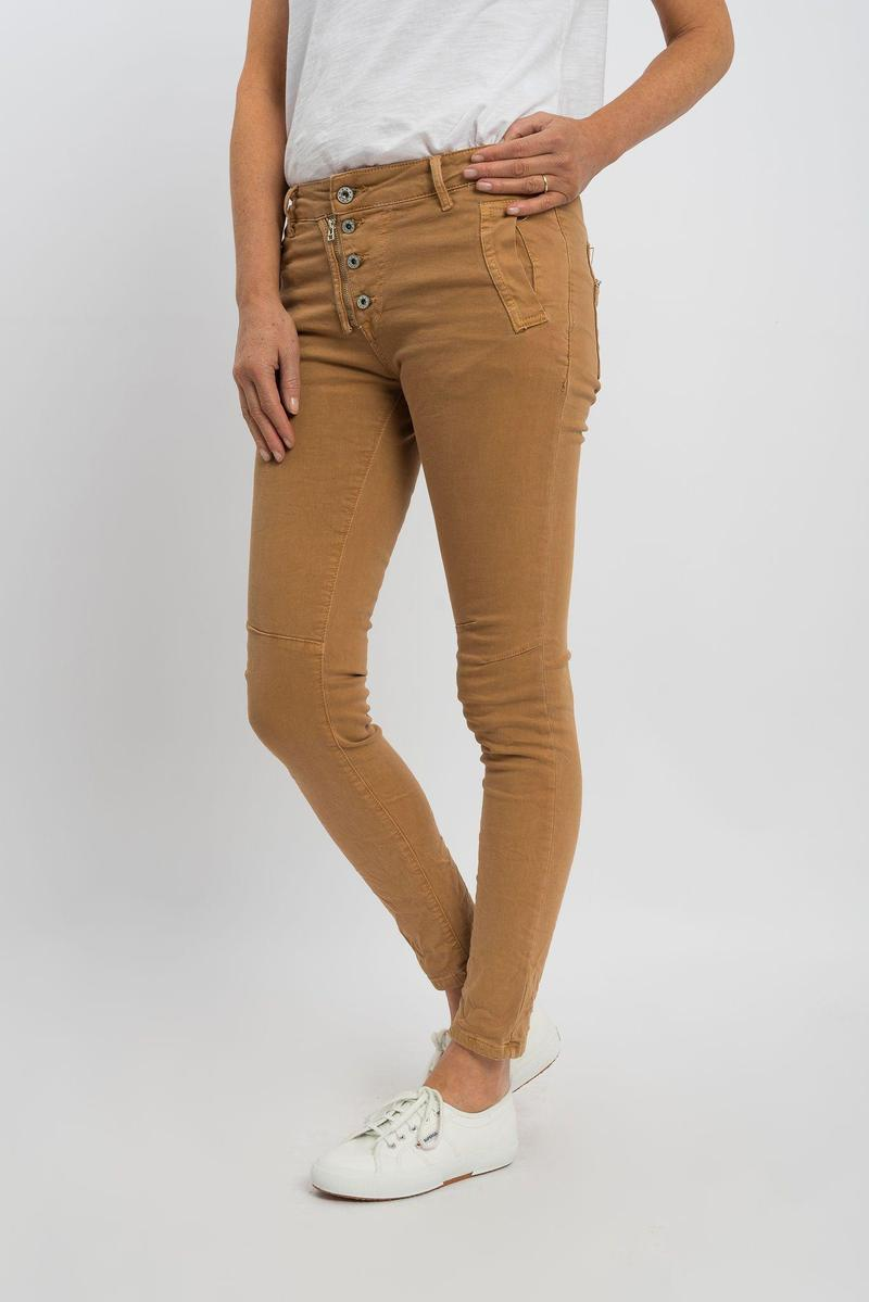 ITALIAN STAR - Button Jeans Biscotti