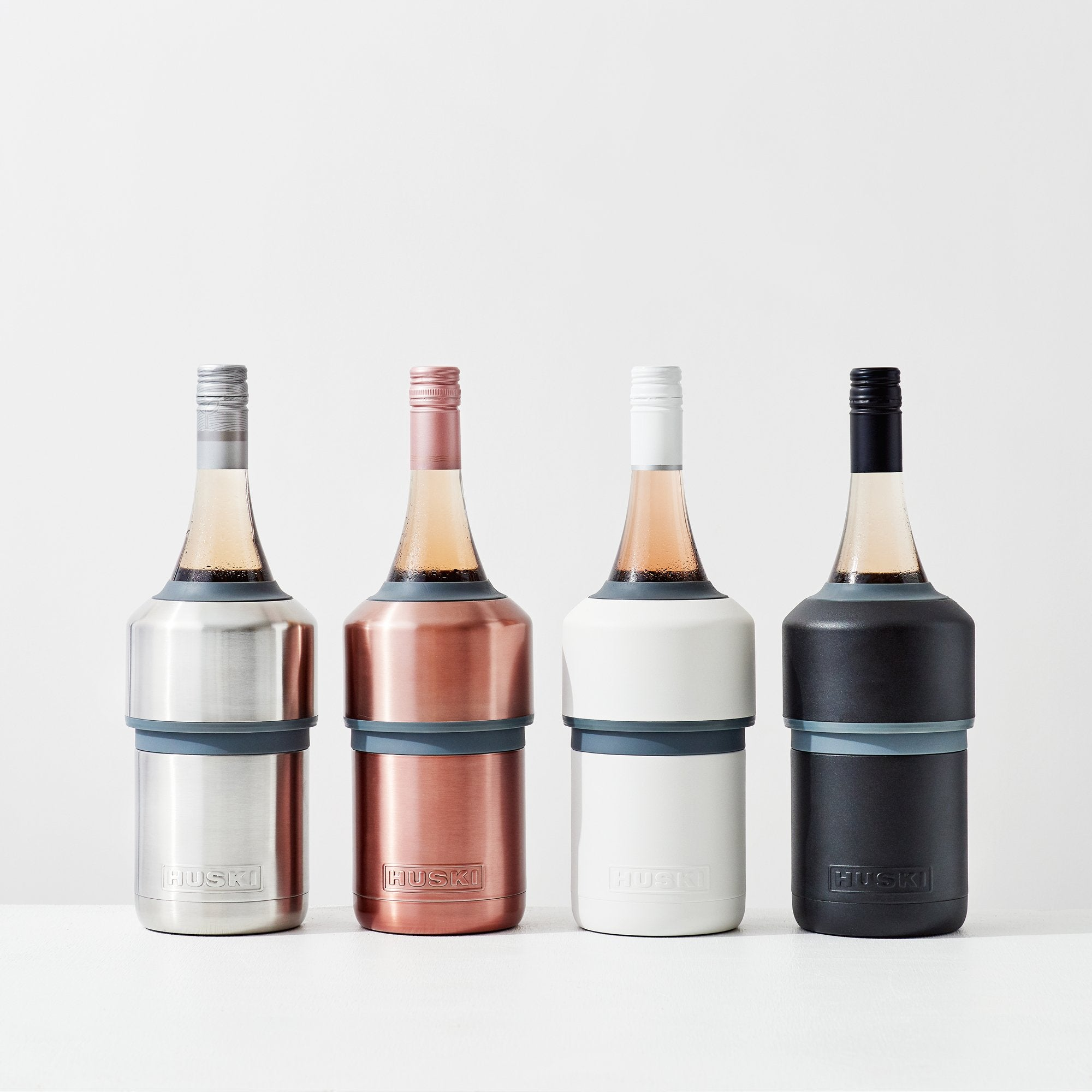 HUSKI - Wine Cooler - Brushed Stainless