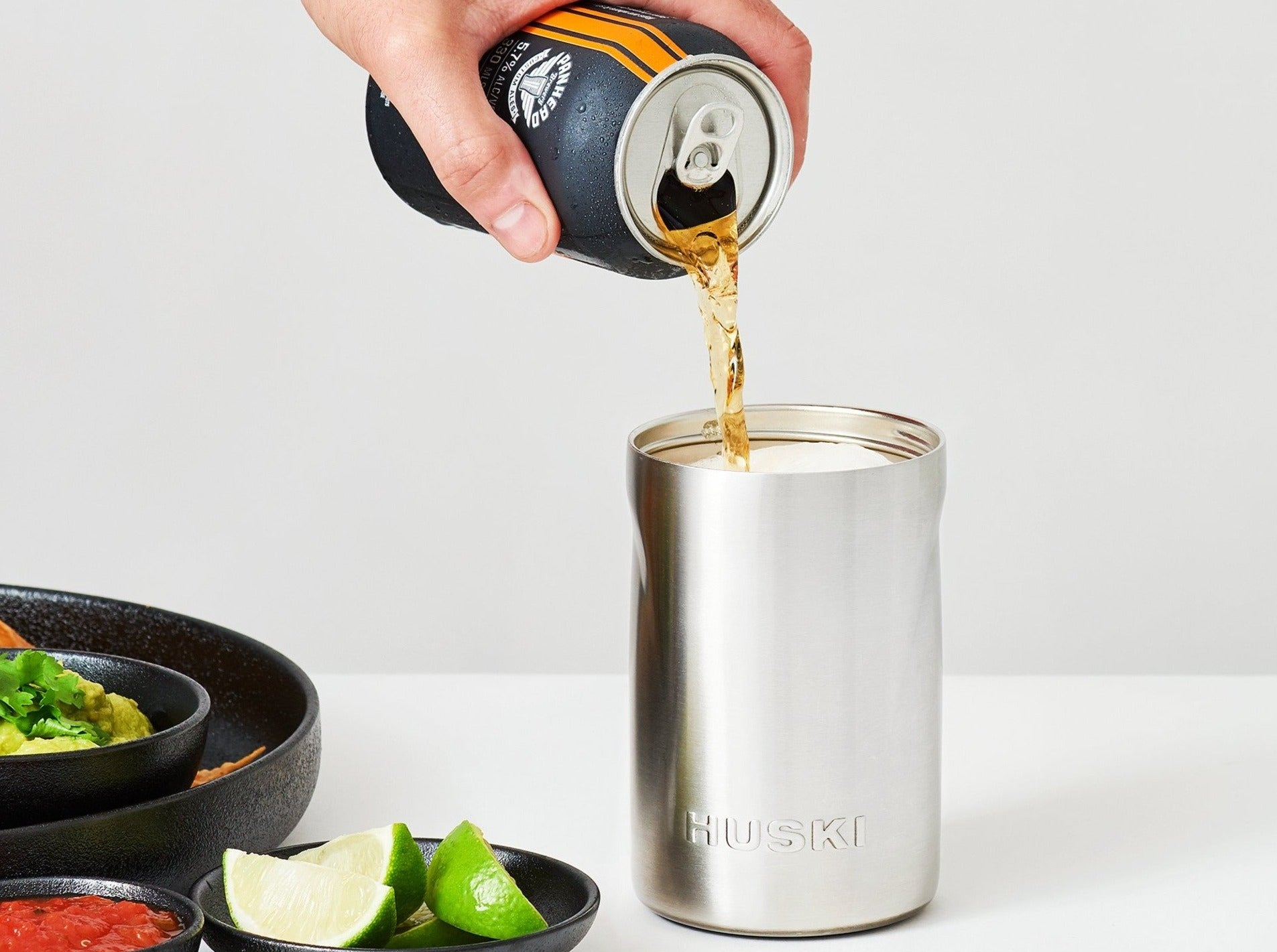 HUSKI - Beer Cooler Black