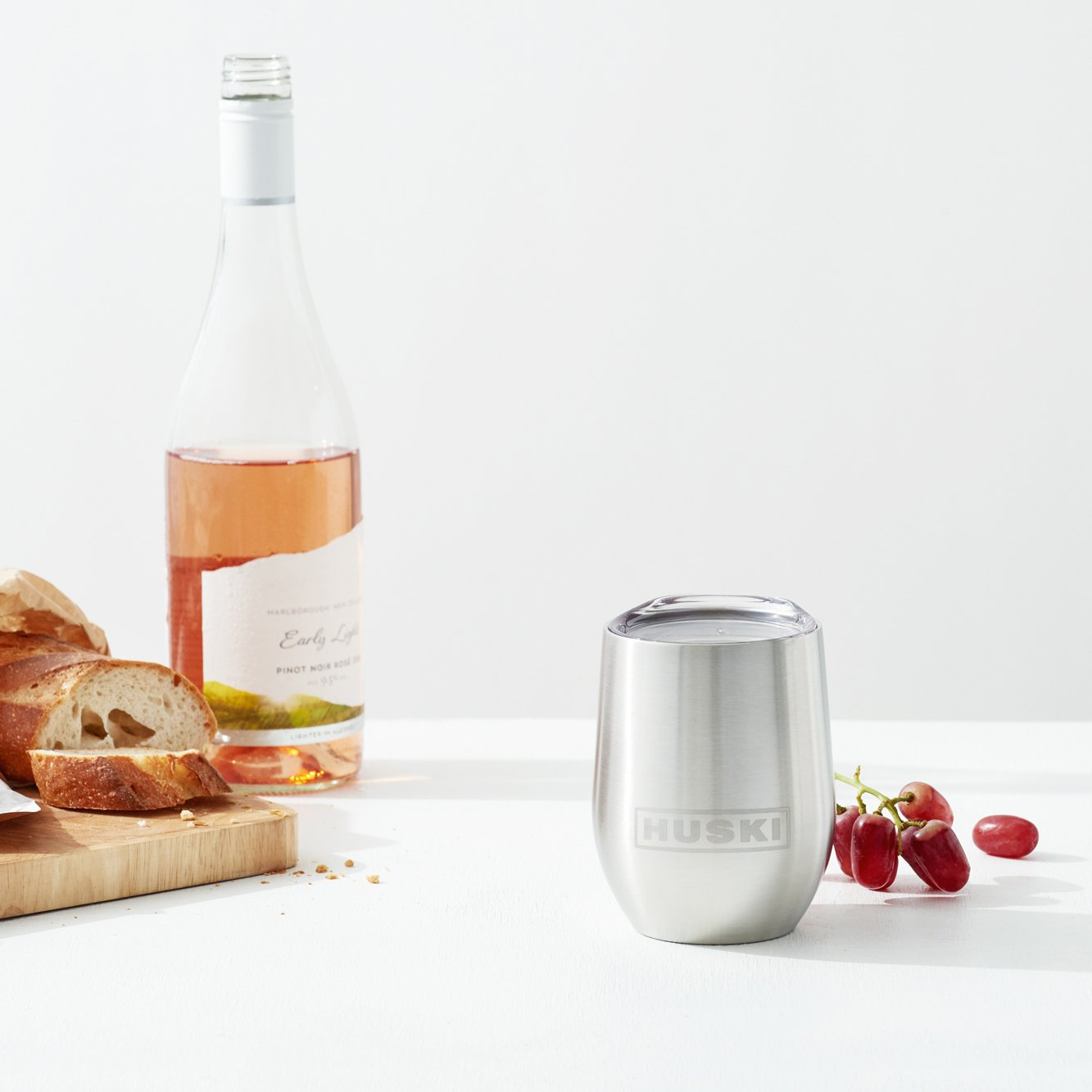 HUSKI - Wine Tumbler Rose