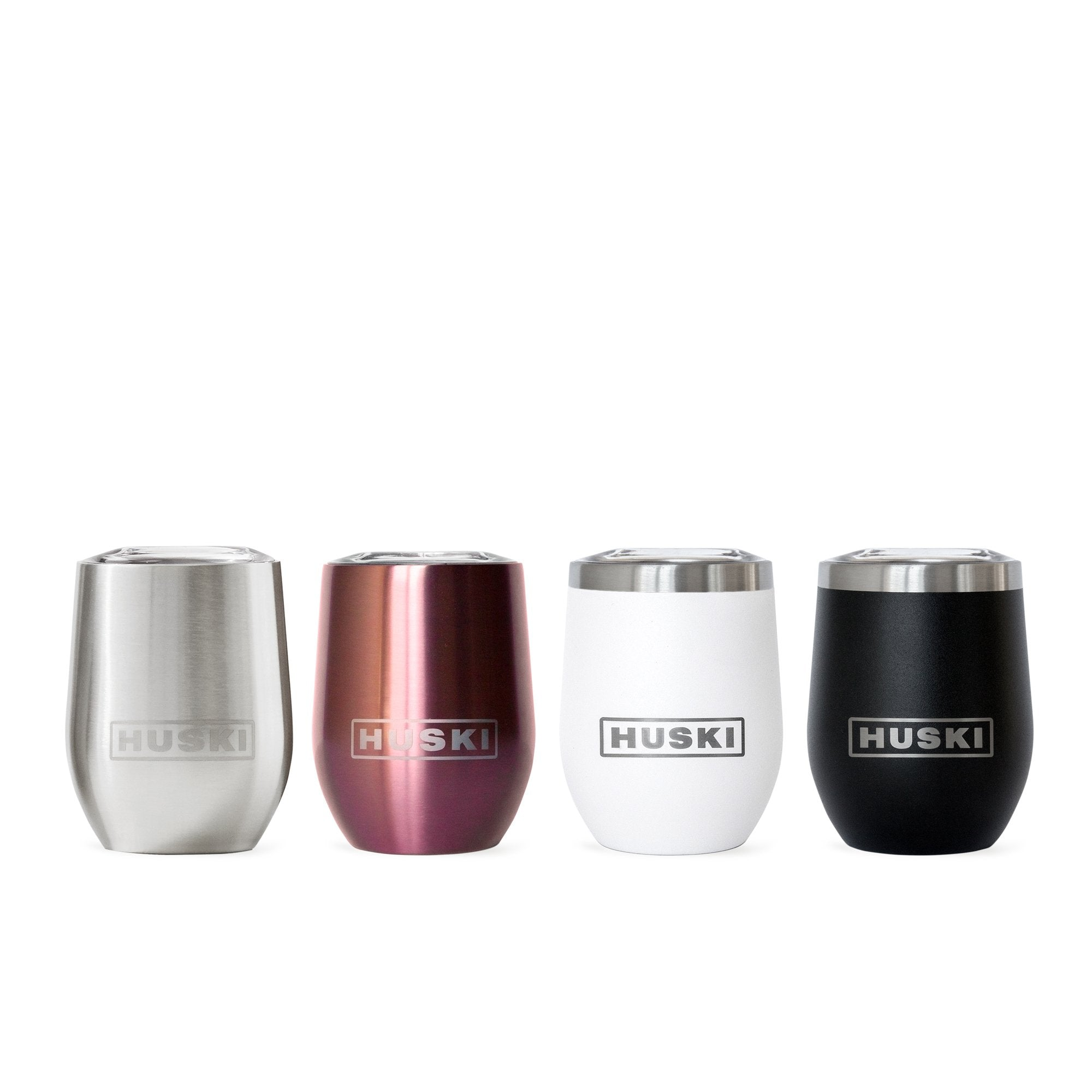 HUSKI - Wine Tumbler Black