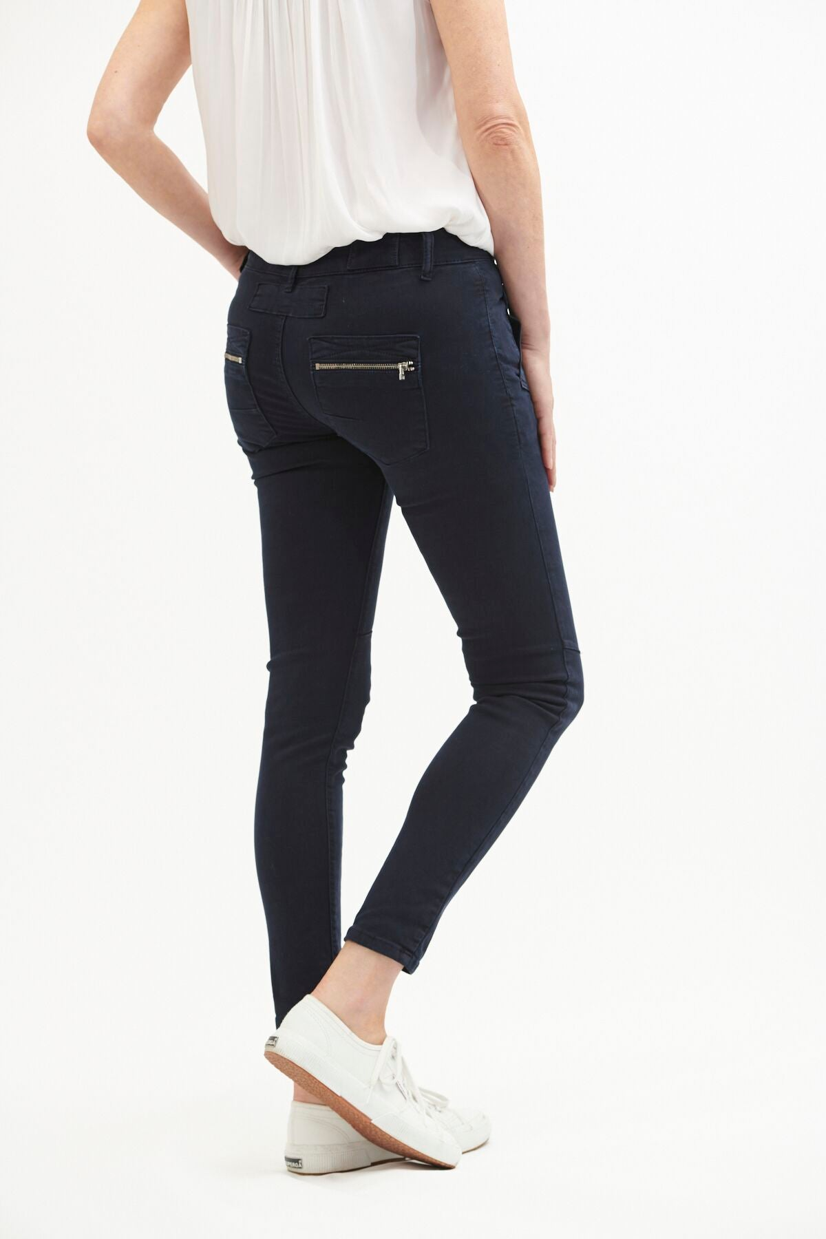 ITALIAN STAR - Button Jeans Indigo