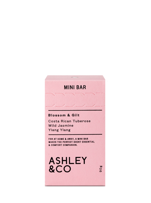 ASHLEY & CO Mini Bar - Blossom & Gilt