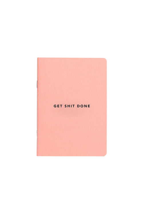 MiGoals - Get Shit Done A5 Notebook