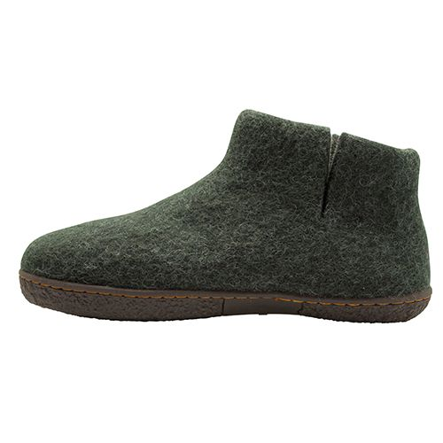 WOOL BY GREEN COMFORT - Nepal Wool Felt Boot - Olive