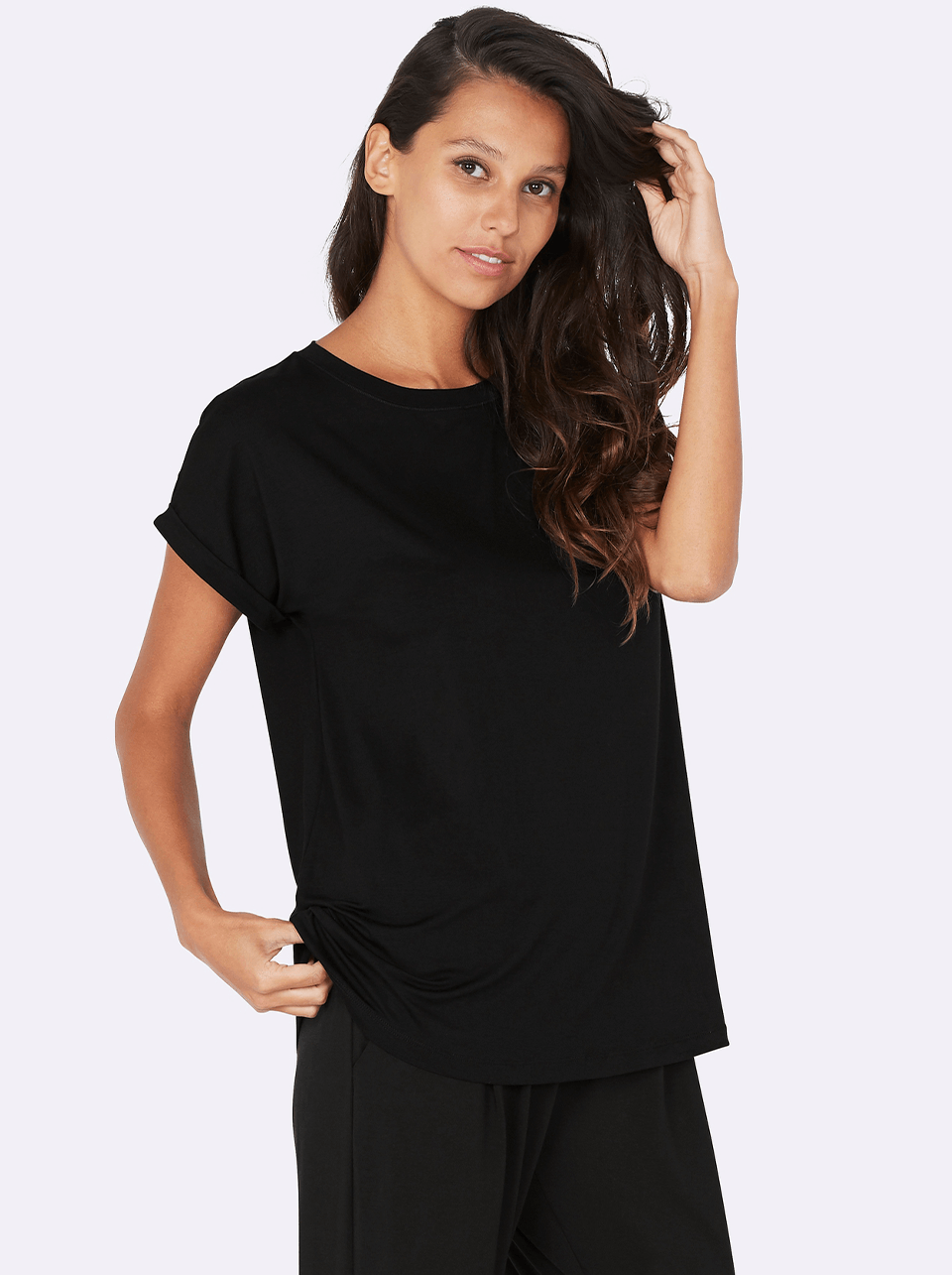 BOODY - Downtime Lounge Top Black