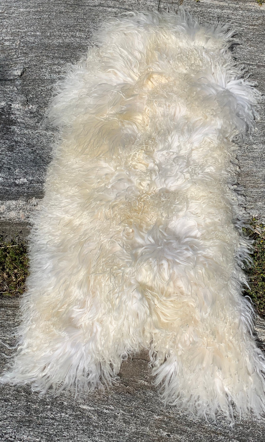 Luxurious Cream Sheepskin