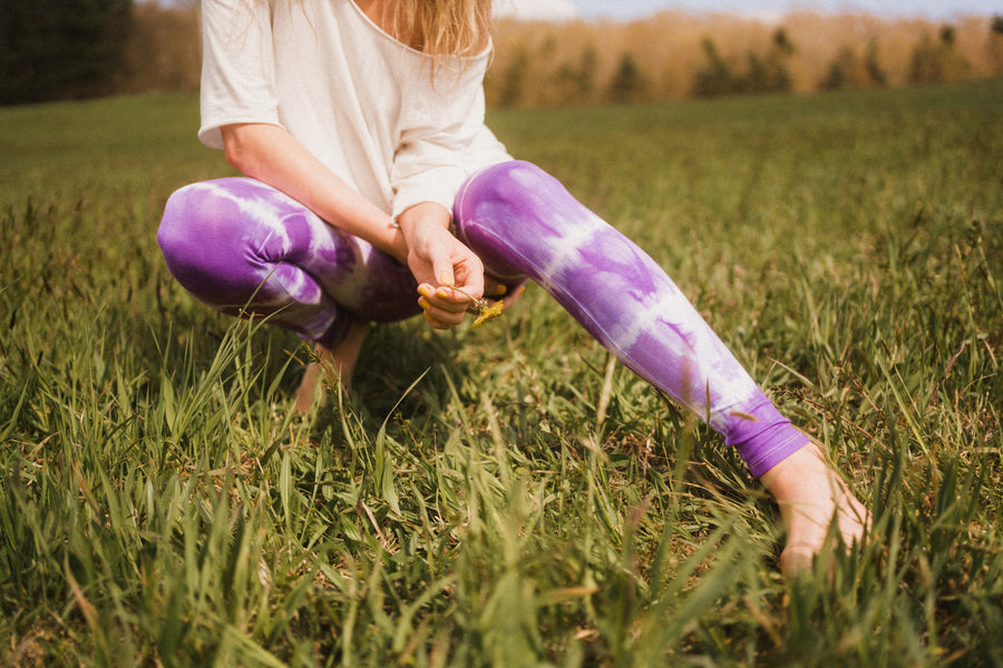 Hand Dyed Leggings
