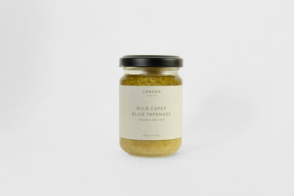 Wild Caper and Green Olive Tapenade