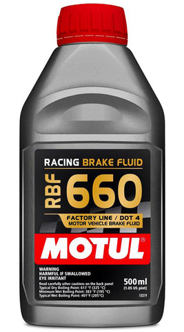 Racing Brake Fluid 660 Factory Line
