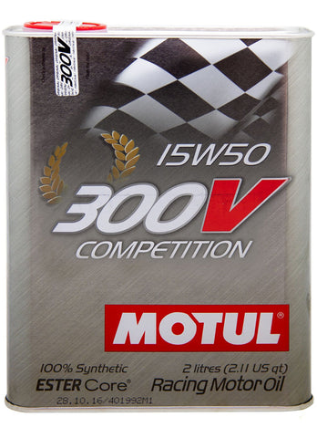 300V Competition 15W-50