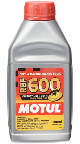 Racing Brake Fluid 600 Factory Line