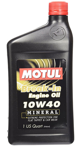 Break-In Engine Oil 10W-40