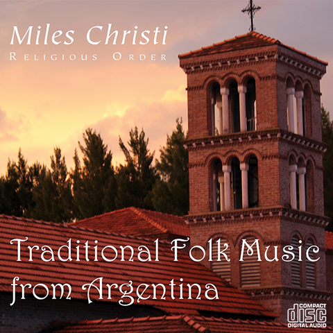 CD: Traditional Folk Music from Argentina