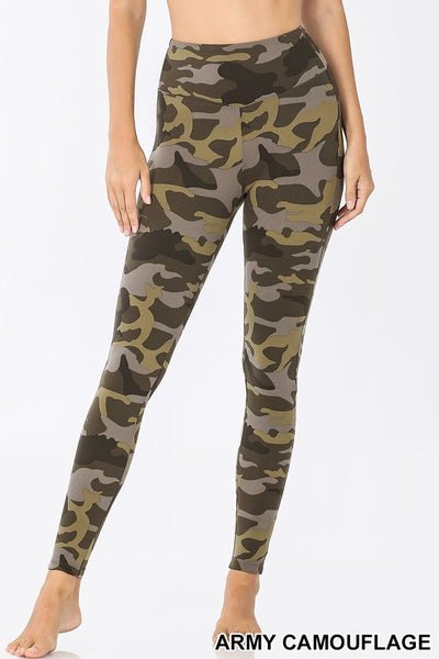 Microfiber Camo Leggings
