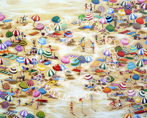 beach art bondi style by andy baker of bald art