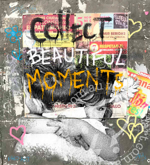collect beautiful moments by andy baker of bald art