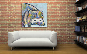 ready to hang limited edition canvas wall art by andy baker of bald art