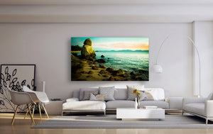 surf beach photography ready to hang canvas wall art by baldart.com.au