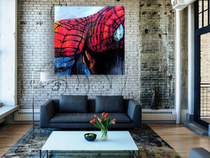 marvel spiderman by andy baker of bald art
