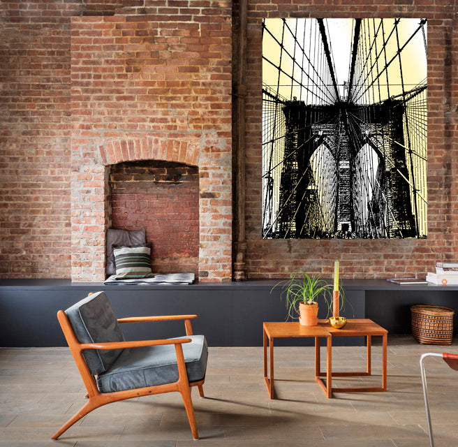 Brooklyn Bridge Pop Art Limited Edition Print