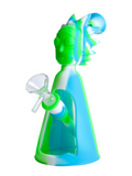 "8"" Silicone Rick Water Pipe (Assorted)"