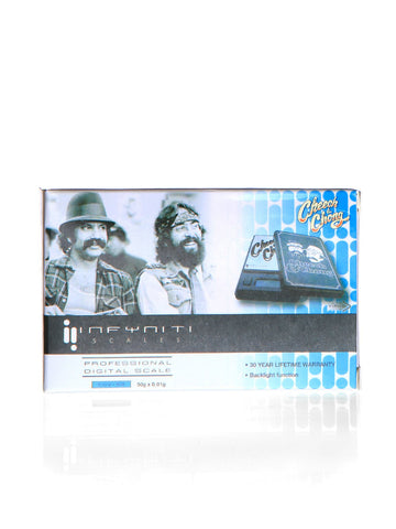 Cheech and Chong Digital Pocket Scale - 50 g  0.01 g - We Need Bongs