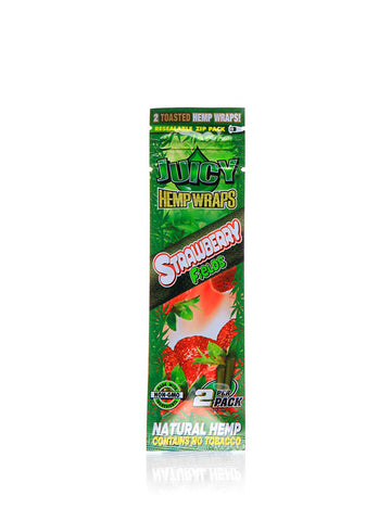 Juicy Hemp Wraps - Strawberry Fields
