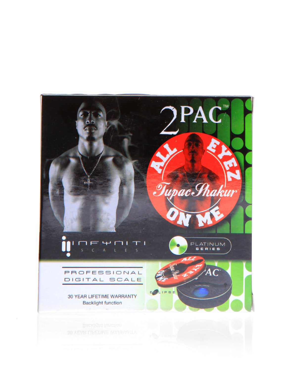 2 PAC Digital Pocket Scale - 500 g  0.1 g