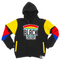 """Support Black Colleges"" Multi-colored Jumpsuit Hoodie ""Black"""