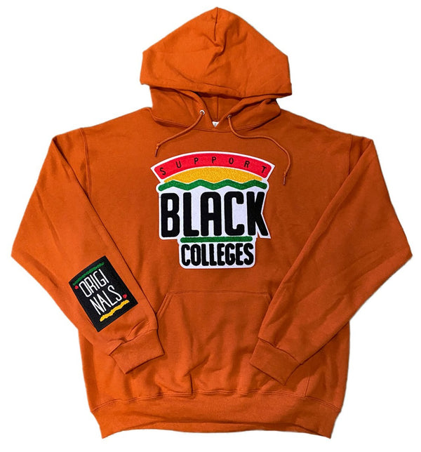 """Support Black College"" Hoodie ""Spice"""