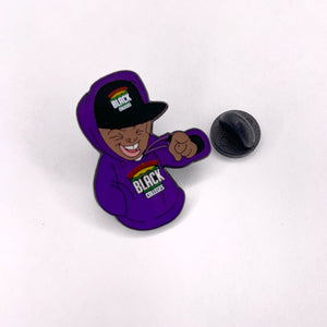 "Support Black College ""Bebe"" Pin"