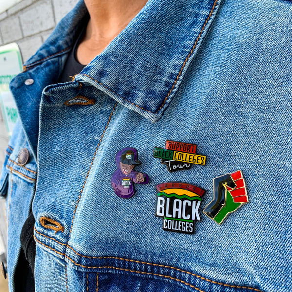 Support Black College Pin Collection
