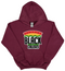 """Support Black College"" YOUTH Hoodie ""Maroon"""