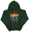 """Support Black College"" YOUTH Hoodie ""Dark Green"""
