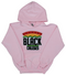 """Support Black College"" YOUTH Hoodie ""Light Pink"""