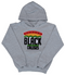 """Support Black College"" YOUTH Hoodie ""Grey"""