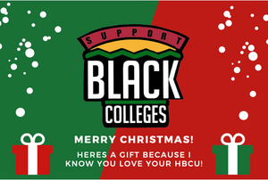 Support Black College Gift Card