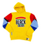 """Support Black Colleges"" Multi-colored Jumpsuit Hoodie ""Yellow"""