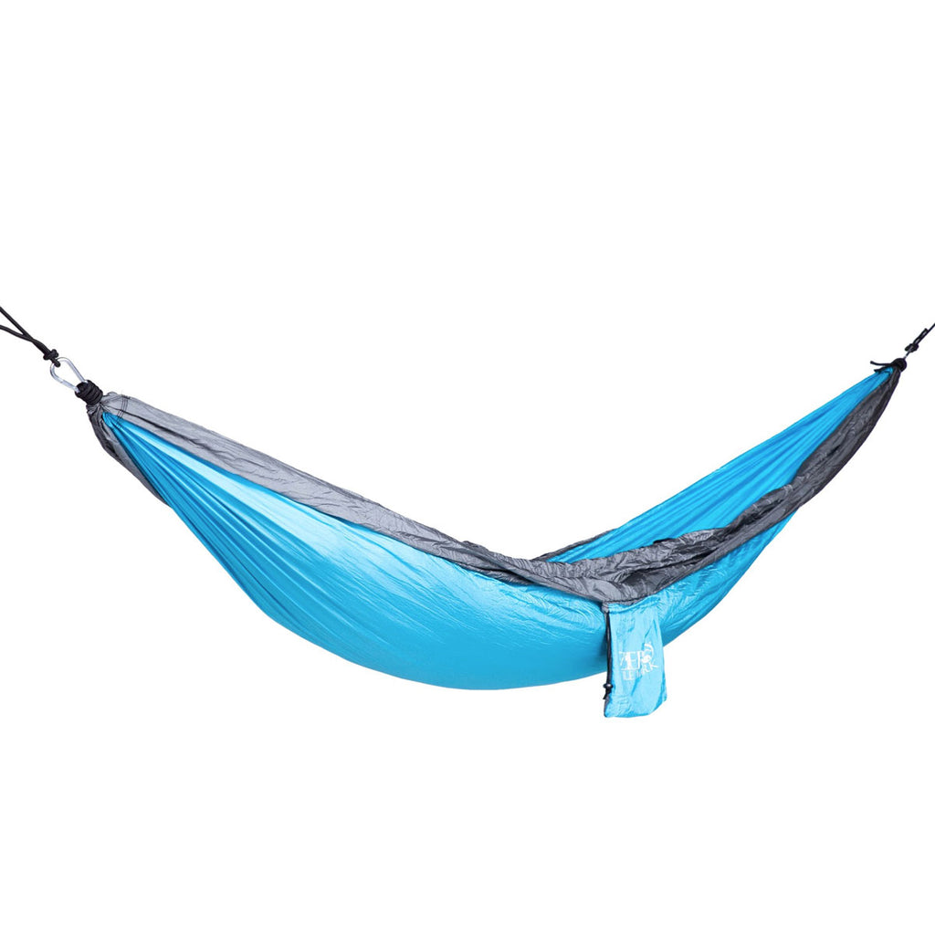 Ready to Hang Parachute Style Hammock (3 Color Options)