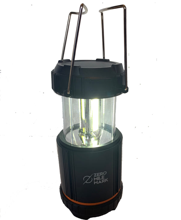 Solar Power, Battery Power, Rechargeable Ultra-Bright Lantern